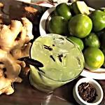 Caipirinha de Limão com Gengibre e Cravo