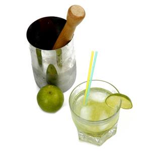 Receita de Caipirinha de Vodka - Caipiroska
